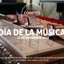 CELEBRAMOS EL DÍA DE LA MUSICA