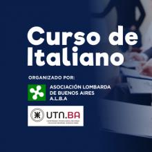 Cursos de italiano de la Asociación Lombarda de Buenos Aires en la UTN