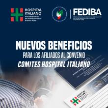 NUEVOS BENEFICIOS CONVENIO HOSPITAL ITALIANO 2021