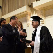La UTN entregó el título Dr. Honoris Causa a Conrado Varotto